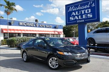2014 Honda Civic for sale in West Park, FL
