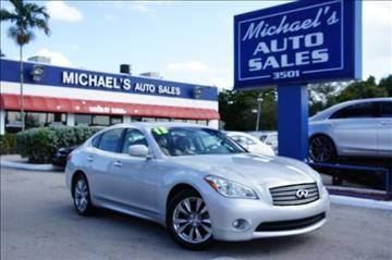 2013 Infiniti M37 for sale in West Park, FL