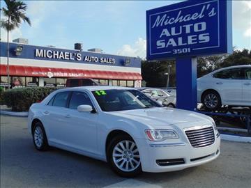 2012 Chrysler 300 for sale in West Park, FL
