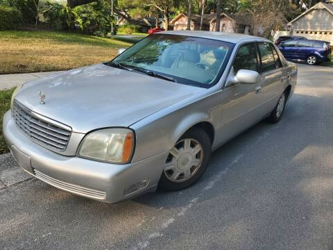 2004 Cadillac DeVille for sale at North American Fleet Sales in Largo FL