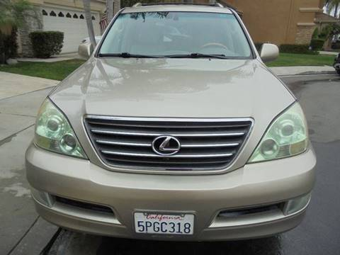 2004 Lexus GX 470 for sale at SAN DIEGO IMPORT CENTER in San Diego CA