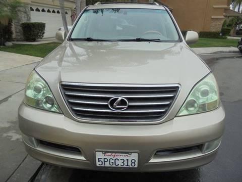 2004 Lexus GX 470 for sale at SAN DIEGO IMPORT CENTER in San Diego CA