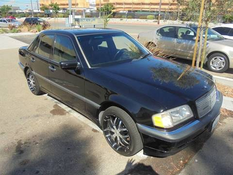 1999 Mercedes-Benz C-Class for sale at SAN DIEGO IMPORT CENTER in San Diego CA