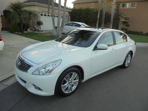 2012 Infiniti G37 Sedan for sale at SAN DIEGO IMPORT CENTER in San Diego CA