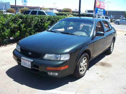 1996 Nissan Maxima for sale at SAN DIEGO IMPORT CENTER in San Diego CA