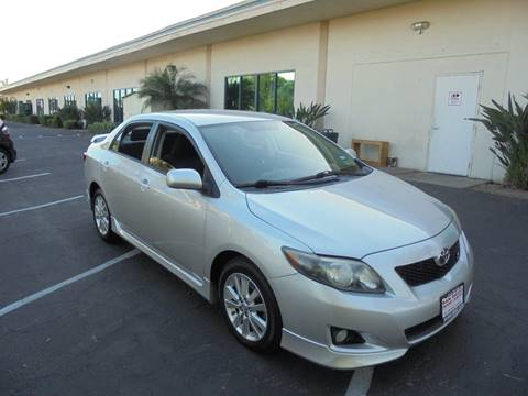 2010 Toyota Corolla for sale at SAN DIEGO IMPORT CENTER in San Diego CA