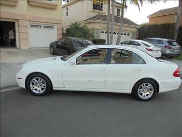 2005 Mercedes-Benz E-Class for sale at SAN DIEGO IMPORT CENTER in San Diego CA