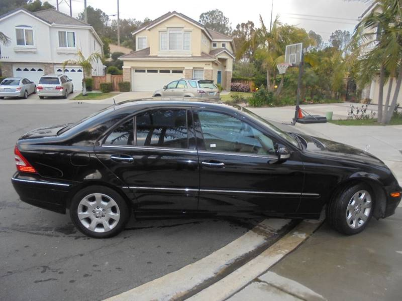 2006 Mercedes-Benz C-Class for sale at SAN DIEGO IMPORT CENTER in San Diego CA