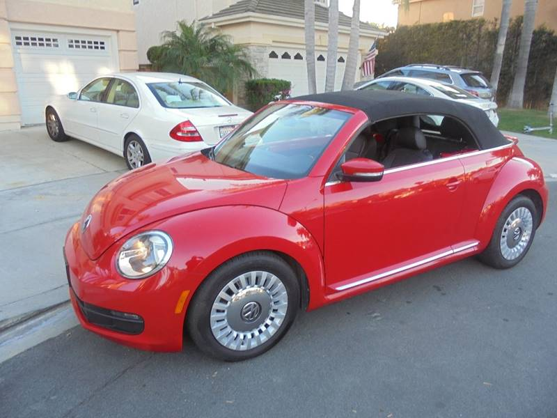 2015 Volkswagen Beetle for sale at SAN DIEGO IMPORT CENTER in San Diego CA