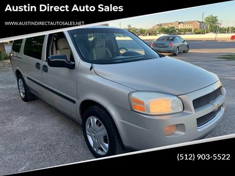 2008 Chevrolet Uplander for sale in Austin, TX