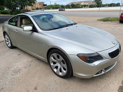 2006 BMW 6 Series for sale at Austin Direct Auto Sales in Austin TX