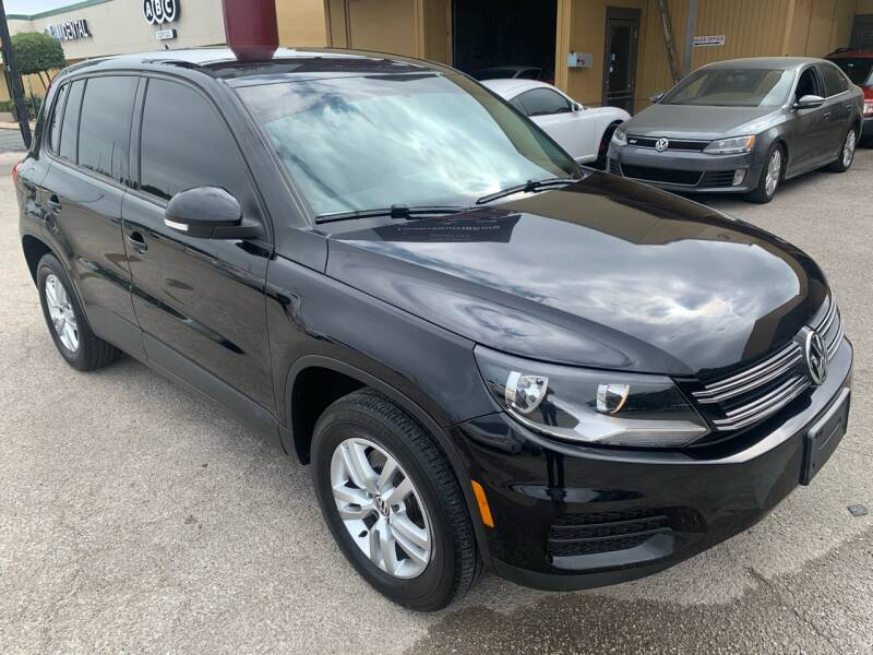 2012 Volkswagen Tiguan for sale at Austin Direct Auto Sales in Austin TX