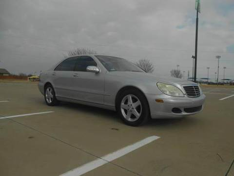 2005 Mercedes-Benz S-Class for sale in Lewisville, TX