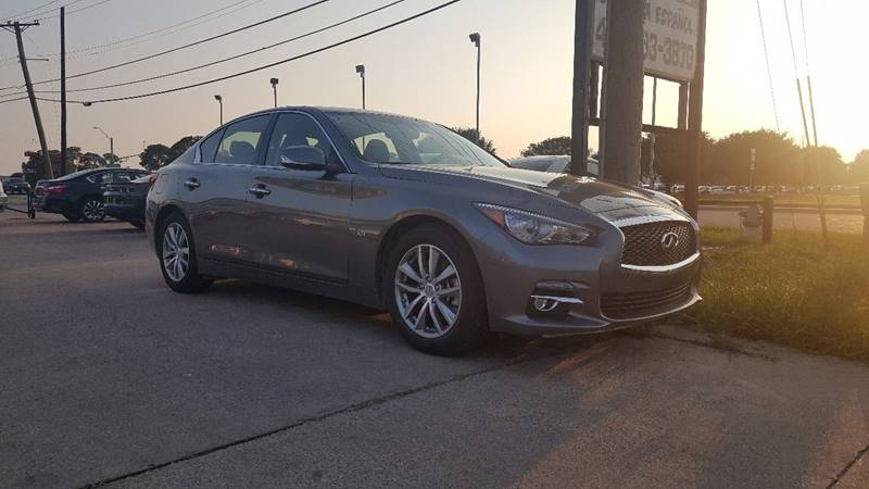 2017 Infiniti Q50 for sale at ADL Auto Sales in Lewisville TX