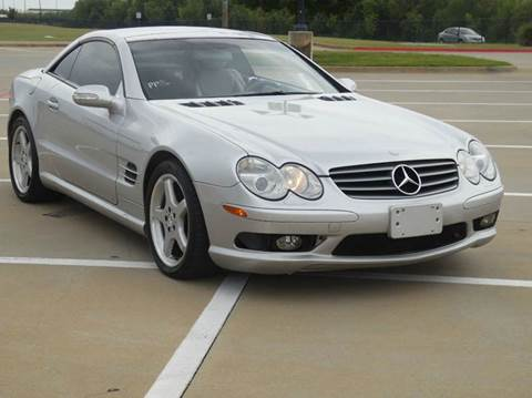 2003 Mercedes-Benz SL-Class for sale at ADL Auto Sales in Lewisville TX