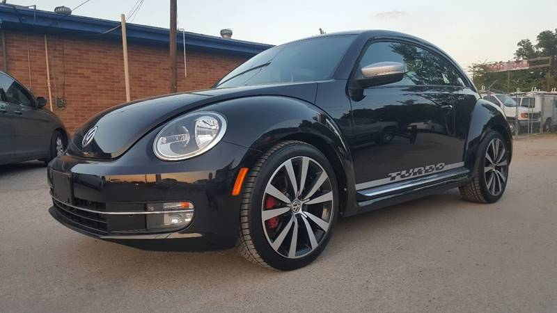 2012 volkswagen beetle black turbo pzev in lewisville tx adl auto sales. Black Bedroom Furniture Sets. Home Design Ideas