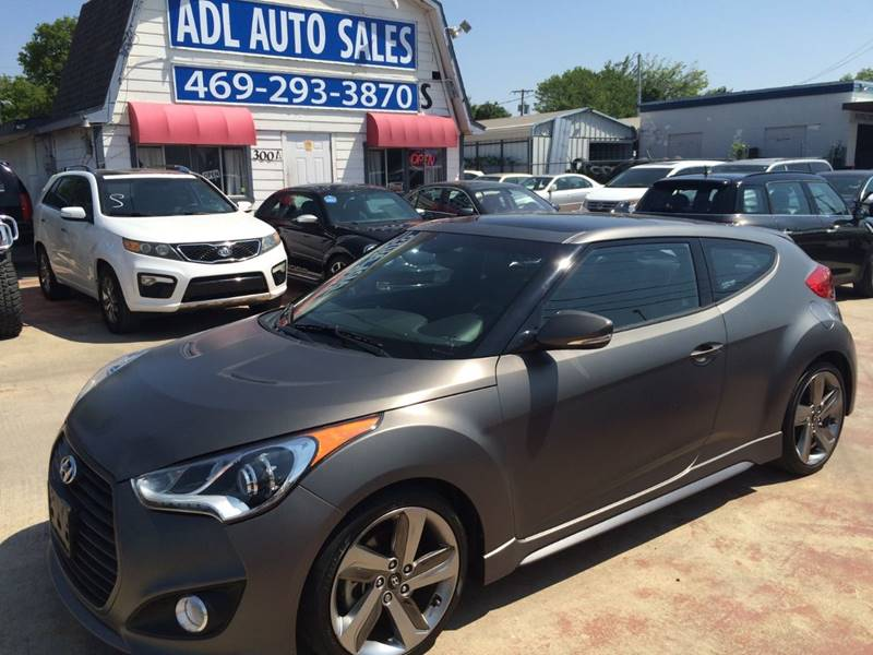 2014 Hyundai Veloster Turbo In Lewisville Tx Adl Auto Sales