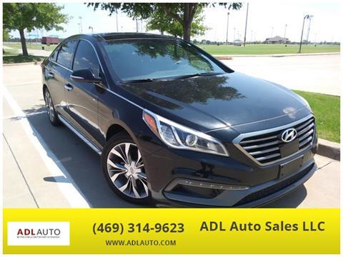 2015 Hyundai Sonata for sale in Lewisville, TX