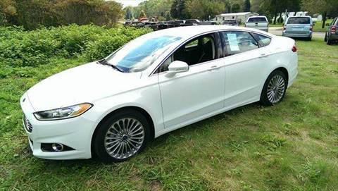 2014 Ford Fusion for sale in Little Valley, NY