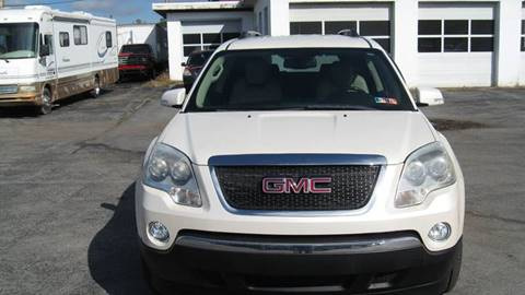2010 GMC Acadia SLT-1 for sale at SHIRN'S in Williamsport PA