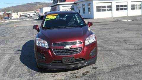 2016 Chevrolet Trax LS for sale at SHIRN'S in Williamsport PA