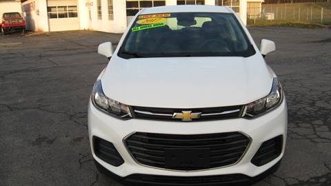 2017 Chevrolet Trax LS for sale at SHIRN'S in Williamsport PA