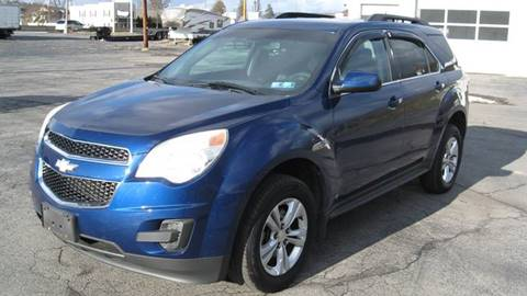 2010 Chevrolet Equinox LT for sale at SHIRN'S in Williamsport PA