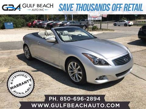2013 Infiniti G37 Convertible for sale in Pensacola, FL