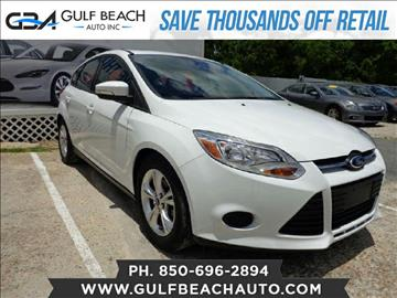 2014 Ford Focus for sale at GULF BEACH AUTO INC in Pensacola FL