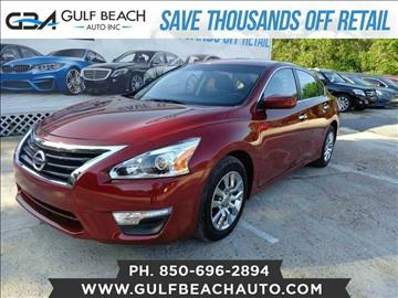 2014 Nissan Altima for sale at GULF BEACH AUTO INC in Pensacola FL