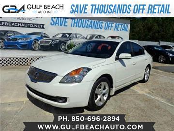 2007 Nissan Altima for sale at GULF BEACH AUTO INC in Pensacola FL