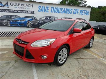 2012 Ford Focus for sale at GULF BEACH AUTO INC in Pensacola FL
