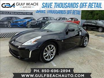 2014 Nissan 370Z for sale at GULF BEACH AUTO INC in Pensacola FL