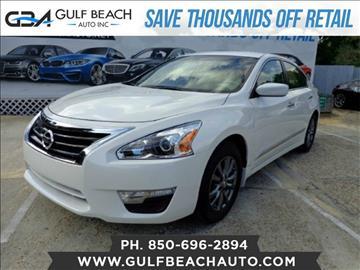 2015 Nissan Altima for sale at GULF BEACH AUTO INC in Pensacola FL