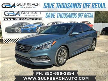 2015 Hyundai Sonata for sale at GULF BEACH AUTO INC in Pensacola FL
