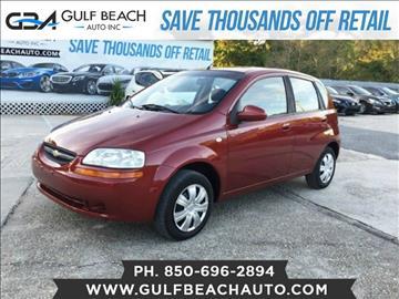2006 Chevrolet Aveo for sale at GULF BEACH AUTO INC in Pensacola FL