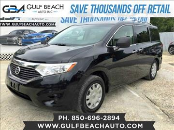 2012 Nissan Quest for sale at GULF BEACH AUTO INC in Pensacola FL