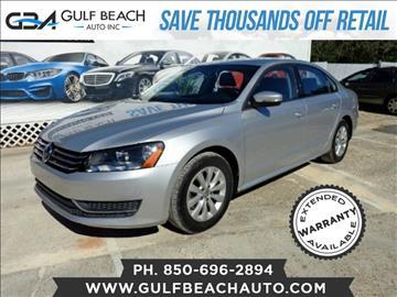 2014 Volkswagen Passat for sale at GULF BEACH AUTO INC in Pensacola FL