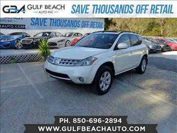 2006 Nissan Murano for sale at GULF BEACH AUTO INC in Pensacola FL