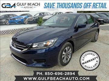 2013 Honda Accord for sale at GULF BEACH AUTO INC in Pensacola FL
