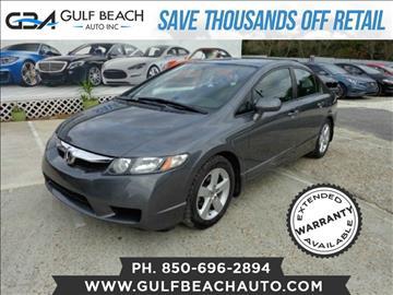 2011 Honda Civic for sale at GULF BEACH AUTO INC in Pensacola FL