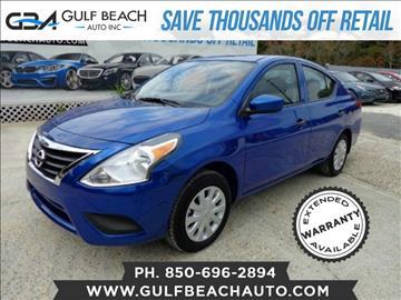 2016 Nissan Versa for sale at GULF BEACH AUTO INC in Pensacola FL