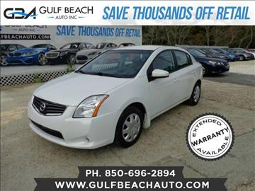 2010 Nissan Sentra for sale at GULF BEACH AUTO INC in Pensacola FL