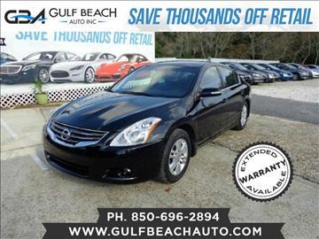 2010 Nissan Altima for sale at GULF BEACH AUTO INC in Pensacola FL