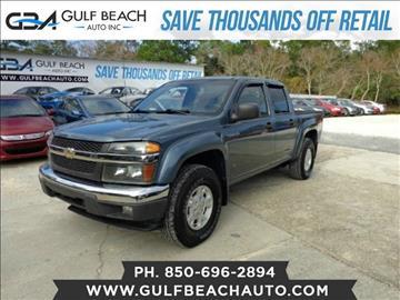 2006 Chevrolet Colorado for sale at GULF BEACH AUTO INC in Pensacola FL
