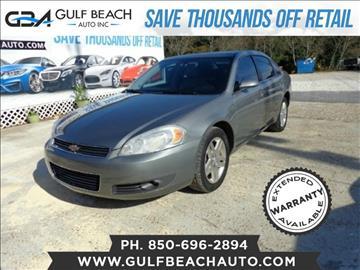 2008 Chevrolet Impala for sale at GULF BEACH AUTO INC in Pensacola FL