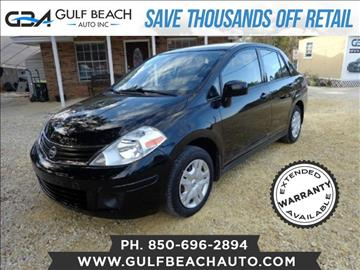2011 Nissan Versa for sale at GULF BEACH AUTO INC in Pensacola FL