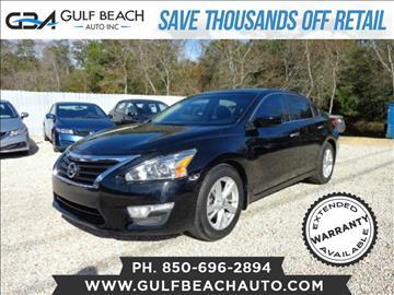 2013 Nissan Altima for sale at GULF BEACH AUTO INC in Pensacola FL