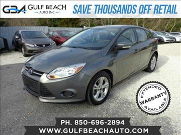 2013 Ford Focus for sale at GULF BEACH AUTO INC in Pensacola FL
