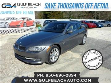 2012 BMW 3 Series for sale at GULF BEACH AUTO INC in Pensacola FL